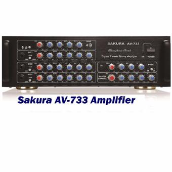 Sakura AV-733 Amplifier (Black)