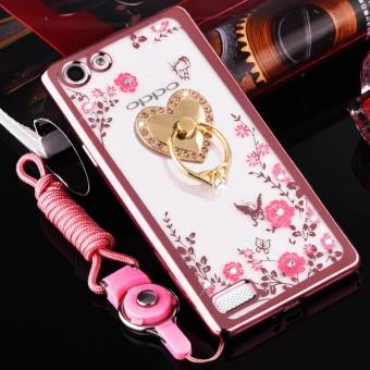 Jual Liquid Quicksand Glitter Case For Oppo R9s Plus Oppo F3 Plus Source · Secret Garden Plating TPU phone case For OPPO F3 plus Rose Gold love