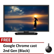 Quot led tv black lc40le265m with free google chrome cast 2ndgen black