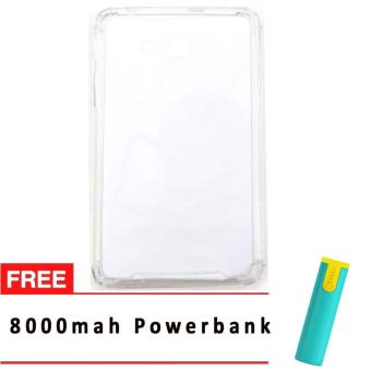 SHOCK PROOF CASE FOR SAMSUNG GALAXY TAB 3V WHITE WITH FREE 8000 MAHPOWER BANK