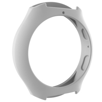 Silicone Protect Case Frame Cover for Samsung Galaxy GearS2/SM-R720/SM-R73(White) - intl