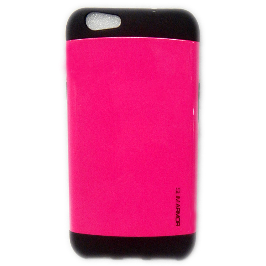 Slim Armor Case For Alcatel One Touch Flash Plus Pink