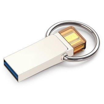 Smart Phone Otg 128GB Waterproof Flash Drive USB 2.0 USB MetalPendrive U Disk USB Storage Stick