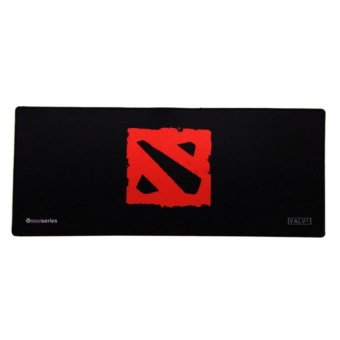 SteelSeries Long Gaming Mouse Pad Large (Red/Black)