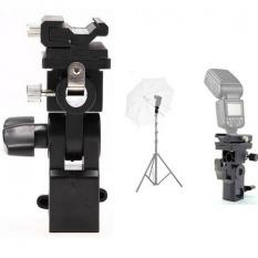 Studio Accessories Flash Hot Shoe Adapter Trigger B Umbrella Mount Holder Swivel for Speedlite Light Stand