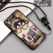 Stylish guy's oppoa37/a37m/oppoa33/a33m cartoon lanyard drop-resistant soft silicone phone case protective case