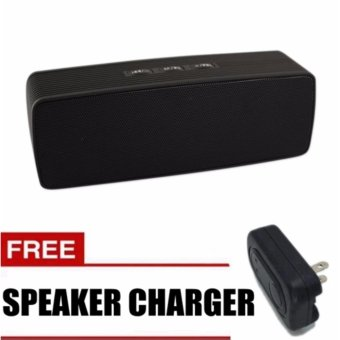 Sunsonic Portable Bluetooth Dual Speakers Ultra Bass (Black) withFREE Speaker Charger