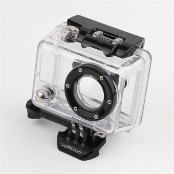 TaisionMY Go Pro Hero 2 Accessories Side Open Skeleton Housing Protective Case with Glass Lens for GoPro Hero 2 - intl