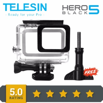 TELESIN Waterproof Diving Case For GoPro Hero5 Black 45MReplacement Waterproof Housing Cover Protective Diving CaseUnderwater Camera Accessories #05537184