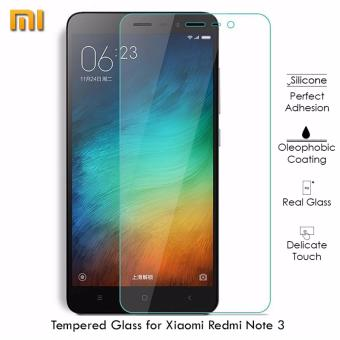 Tempered Glass Screen Protector for Xiaomi RedMi Note 3 (Clear)