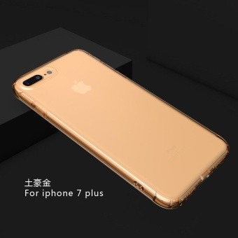 Transparent Clear Case On The for Apple iPhone 7 Plus Soft SilicaGel TPU Case Silicone Cover Ultra Thin Case Phone case - intl