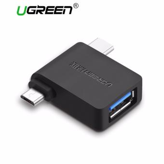 UGREEN Type-C / USB3.0 / Micro USB 3 in 1 OTG Adapter Converter -intl