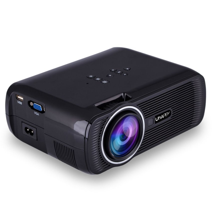 Unic uc28 mini portable projector white lazada ph for Best small portable projector