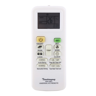 Universal Intelligent Air Conditioner Remote Control Replacement LCD Screen Controller - intl