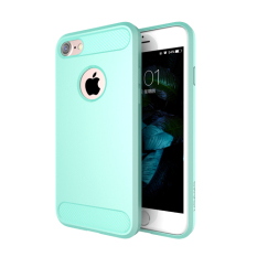 USAMS Exquisite Design Cover Cool Series Luxury TPU Case for iphone 7Plus(SkyBlue)