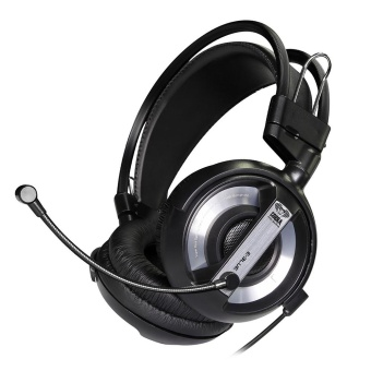 USB 3.5mm Surround Stereo Gaming Headset Headband Head with Mic for PC BK - intl