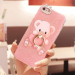 Vivoy67/y67a/vivoy66/y66l cute lanyard sets soft cartoon shell phone case