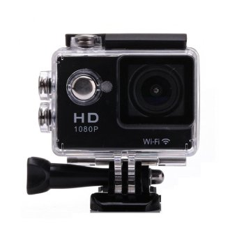 W7 12MP HD Wifi Sports Action Camera (Black)