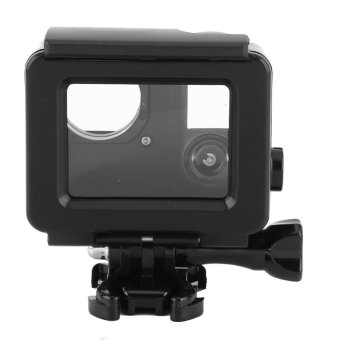 Waterproof ABS Housing Protective Case With Touchable Backdoor For Gopro Hero 4/3+ Camera(Black) - intl