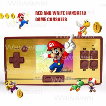 Wawawei Hot sale FC pocket classic retro 30 anniversary video gamechildren's handheld game console 2.6 inch screen 600 games tv game