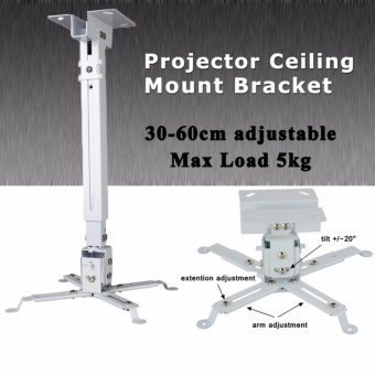 Wejoy 2 In 1 Universal LCD DLP Projector Mount Ceiling Wall TiltBracket Holder 5KG Capacity For Mini Projector 360?Swivel - intl