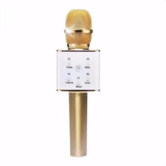 Wireless Bluetooth Handheld Microphone & HiFi Speaker Karaoke KTV Q7