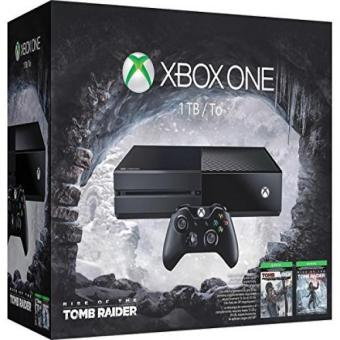 Xbox One 1TB Console Rise of the Tomb Raider Bundle