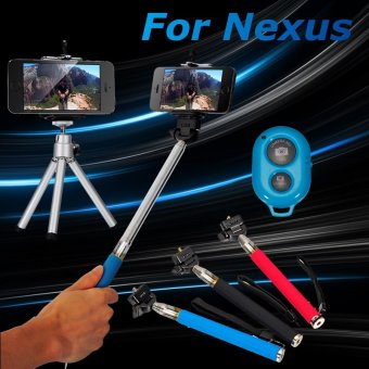 xcsource selfie stick monopod with tripod clip bluetooth remote control for iphone samsung. Black Bedroom Furniture Sets. Home Design Ideas