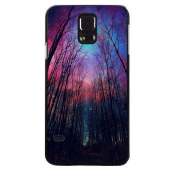 Y&M Beautiful Starry Sky Design Phone Cover for Samsung Galaxy S5 (Multicolor)