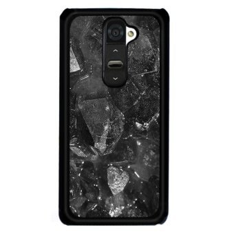 Y&M Cell Phone Case For LG G2 Black Pattern Cover (Multicolor)