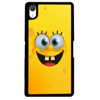 Y&M Cute Sponge Bob Sony Xperia Z3 Phone Cover (Multicolor)