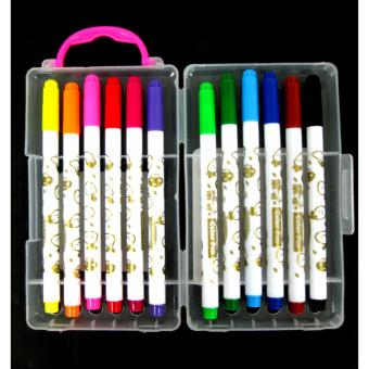 12 pcs. Goods for Kids to Start Coloring Mini Color Pen