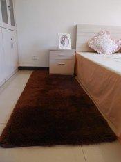 PHP 799 120 X 80cm Anti Slip Premium Velvet Carpet Fluffy Rugs Anti-Skiding Shaggy Area Rug Dining Room Carpet Floor Mats White Shaggy ...
