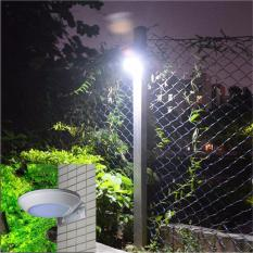 260LM Microwave Radar Motion Sensor LED Solar Light Waterproof 16LEDs  Street Lamp Outdoor Path Wall Lamp Security Spot Lighting   Intl