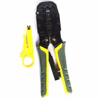 3 in 1 Crimping Tool, RJ45, RJ11 CAT5e/CAT6 LAN CUTTER With Cable Cutter HIGH END