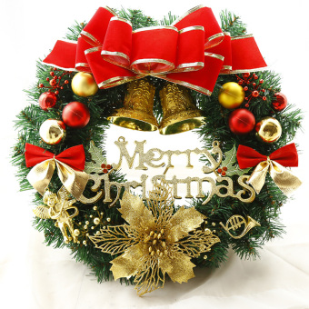30cm40/60 cm Christmas door hanging Christmas wreath