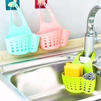 3PCS Kitchen Hanging Drain Bag Basket Bath Storage Tools SinkHolder
