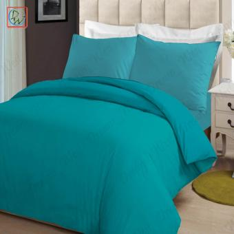 4 Pieces Sheet Set Beddings Microfiber Plain Queen Size Bedsheet byModern Linens (Turquoise)