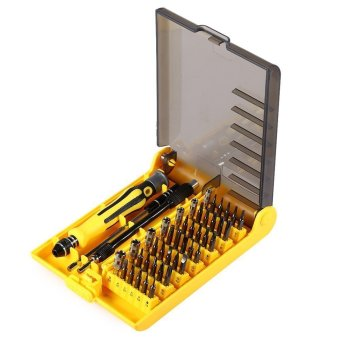 45 in 1 Precision Opening Pry Screwdriver Set Repair Tool Kit foriPhone iPad iPod Samsung Galaxy Huawei Nokia HTC Nexus LG XiaomiSmart Phone Tablet PC Computer GPS Repair Fix