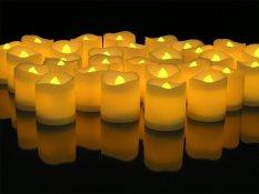 48pcs LED Candles Lighte (White Flameless Box)