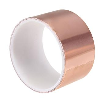 6 feet x 2 inches / 5cm x 1.8m Copper Foil Tape EMI Shielding for Guitars & Pedals - intl