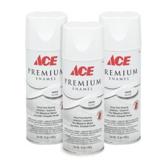 Ace Hardware Premium Enamel Glossy Spray Paint Set Of 3 White Lazada Ph