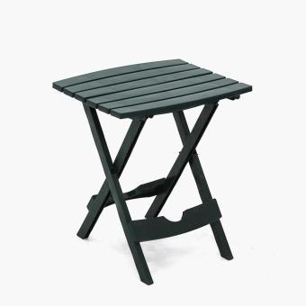Adams Quik-Fold Side Table (Hunter Green)