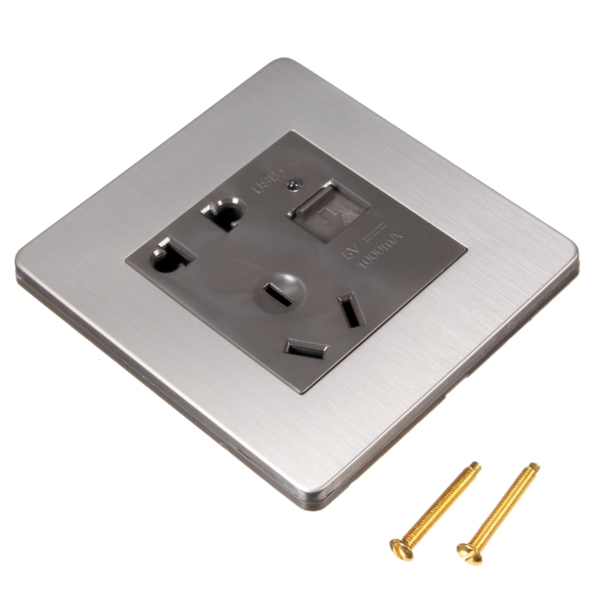usb charger wall plate
