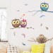 Baby cute bedroom living room wall adhesive paper cartoon sticker