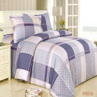 Beverly's Linen Collection Bedsheet Set of 4 (Multicolor) - BBL-056