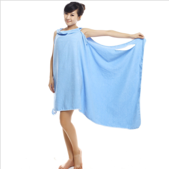 BYL wearable bath towel beach towel sexy harness skirt