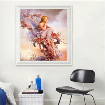 Candy Online Butterfly Elves DIY 5D Diamond Painting Cross StitchFull Drill Rhinestone Painting Decor J001