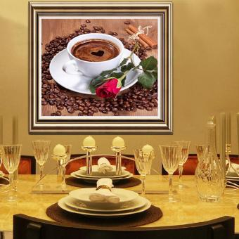 Candy Online Coffee Cups DIY 5D Diamond Painting Cross Stitch FullDrill Rhinestone Painting Decor #8928