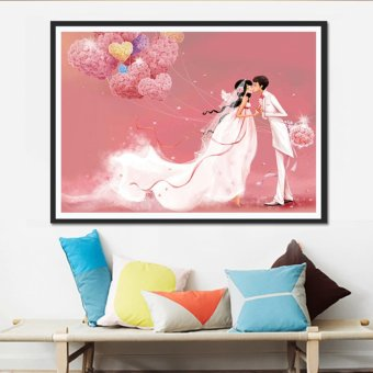 Candy Online Marriage Romantic DIY 5D Diamond Painting Cross StitchFull Drill Rhinestone Painting Decor #8891